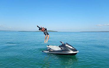 2 Hour Moon Point Run Fraser Island Jet Ski Safari from Hervey Bay