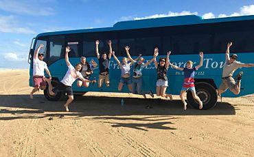 1 Day Fraser Explorer Tour from Hervey Bay