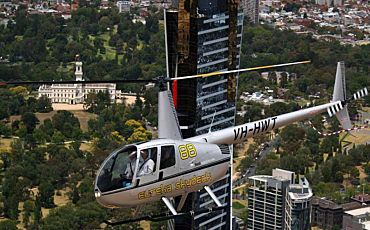 35 Min R44 Trial Helicopter Flight from Perth
