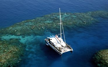 1 Day Passions of Paradise Outer Barrier Reef Sailing Adventure from Cairns