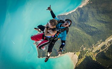 Whitsunday Islands Tandem Skydive from Airlie Beach