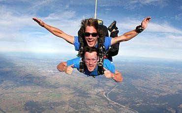Hunter Valley Tandem Skydive from Hunter Valley