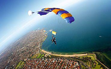 Melbourne (St Kilda) Tandem Skydive from Melbourne