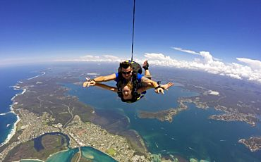 Newcastle Tandem Skydive from Sydney