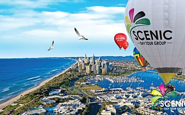 30 Minute Scenic Hot Air Ballooning from the Gold Coast