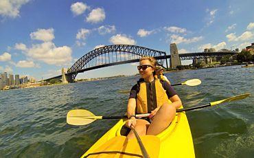 3 Hour Under the Sydney Harbour Bridge Kayak Tour from Sydney