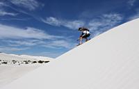 Sand Boarding and Tobogganing