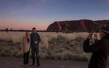 3 Hour Sunrise Uluru Highlights Tour from Ayers Rock
