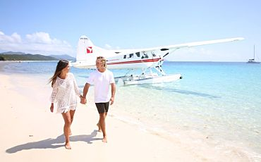 Air Whitsundays Scenic Seaplane Flights from Airlie Beach