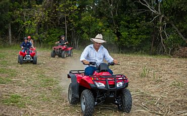 1 Day Nautilus ATV Adventure, Fly and Reef Cruise Tour from Cairns