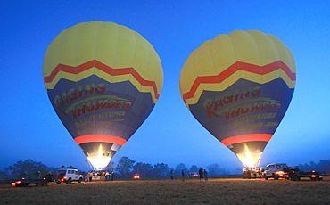 Raging Thunder Hot Air Balloon Flights from Cairns