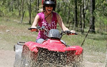 1 Day Green Island and ATV Adventure from Cairns