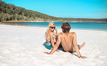 2.5 Day/2 Night Fraser Island Backpacker Tour from Hervey Bay