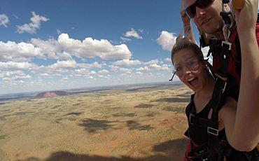 Ayers Rock Tandem Skydive from Uluru
