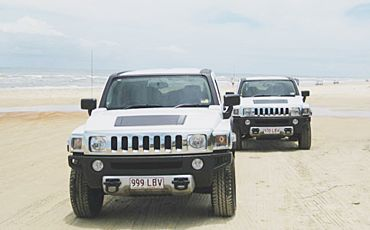 1 Day Fraser Experience Hummer Tour from Hervey Bay