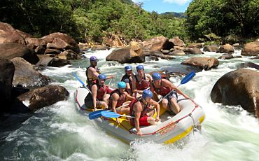 Raging Thunder Barron River White Water Rafting from Cairns