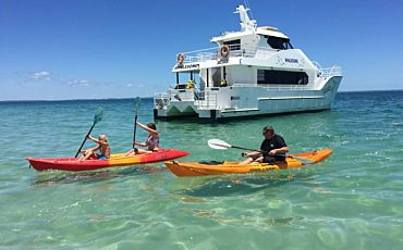 Half Day Fraser Island Beach and BBQ Tour on the Whalesong from Hervey Bay