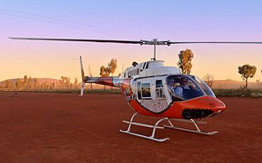 Uluru and Outback Scenic Helicopter Flights from Ayers Rock