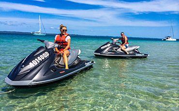 3 Hour Fraser Island Jet Ski Safari Tour from Hervey Bay