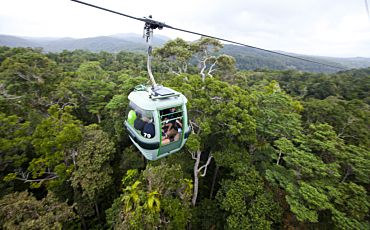 1 Day Green Island and Kuranda Skyrail Tour from Cairns