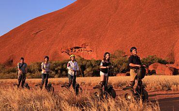Uluru Sunset Cruise by Segway from Ayers Rock