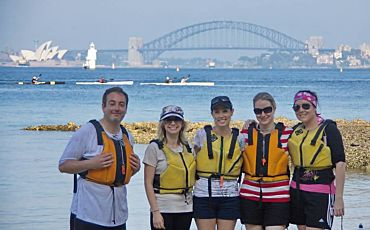 Half Day Sydney Harbour Lunch Kayak Tour from Sydney