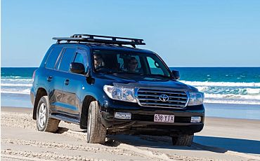 1 Day Fraser Discovery 4WD Premium Charter