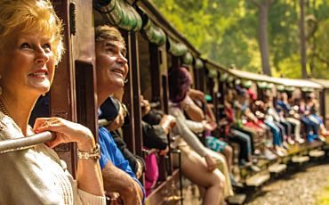 Half Day Puffing Billy Heritage Steam Train Journey from Melbourne