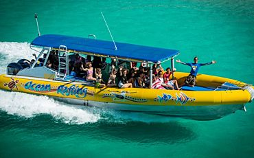 1 Day Fly and Raft Package from Airlie Beach