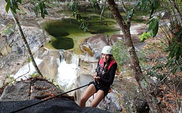 Half Day Raging Thunder Canyoning Tour from Cairns