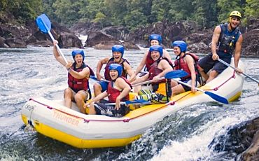 1 Day Green Island and Barron River White Water Rafting Adventure from Cairns