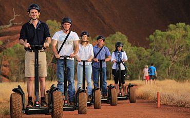 Uluru Sunrise Cruise by Segway from Ayers Rock