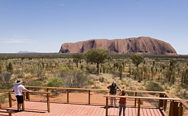 Half Day Seit Uluru Afternoon Tour from Ayers Rock to Ayers Rock